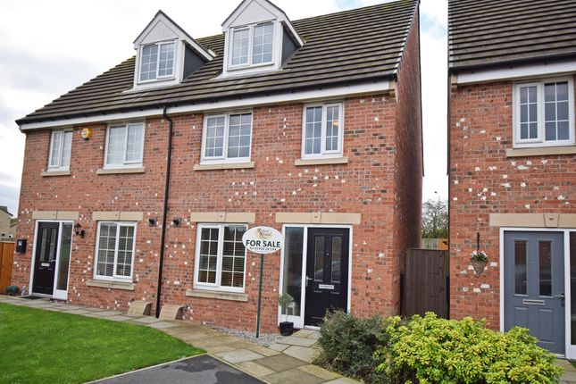 Thumbnail Semi-detached house for sale in Noble Road, Outwood, Wakefield