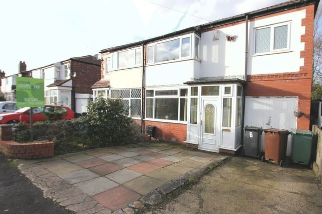 3 bed semi-detached house to rent in Russell Street, Prestwich, Manchester M25