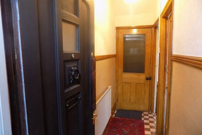 Hallway of River Terrace, Treorchy, Rhondda Cynon Taff. CF42