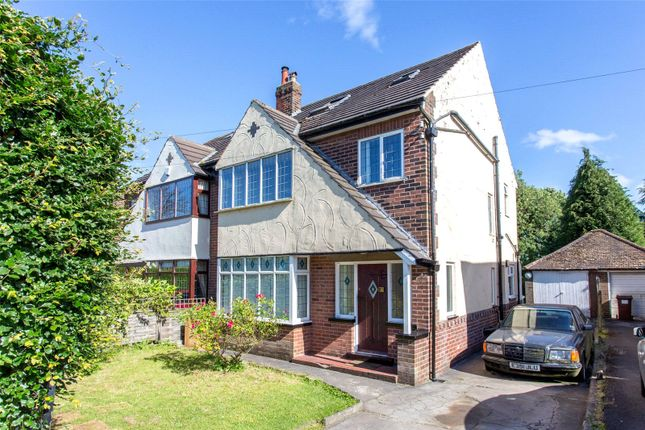 Thumbnail Semi-detached house to rent in Alwoodley Lane, Leeds, West Yorkshire