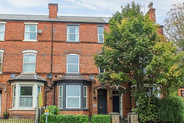 Thumbnail Town house for sale in 293 Woodborough Road, Nottingham, Nottinghamshire