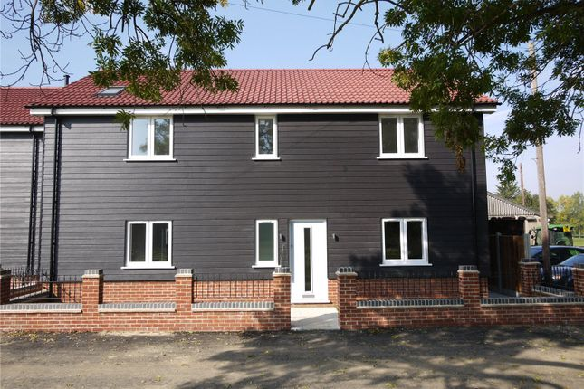 Thumbnail Detached house for sale in Ashwells Court, Ashwells Road, Pilgrims Hatch, Brentwood, Essex