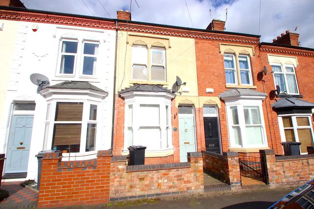 Frontage of Shaftesbury Road, Leicester LE3
