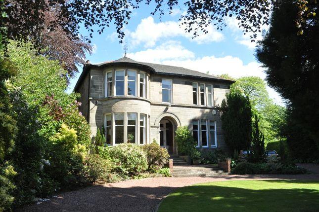 Thumbnail Detached house for sale in West Chapelton Avenue, Bearsden, East Dunbartonshire