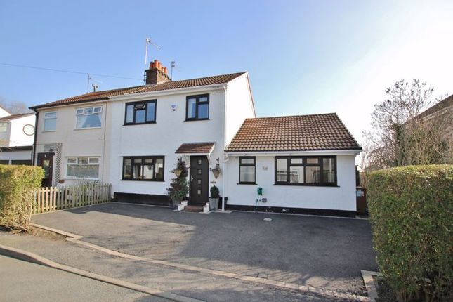 Thumbnail Semi-detached house for sale in Mostyn Avenue, Lower Heswall, Wirral