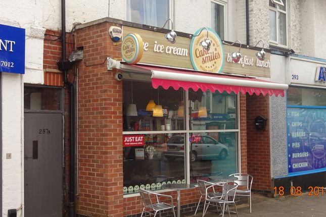 Thumbnail Restaurant/cafe to let in Uppingham Rd, Leicester