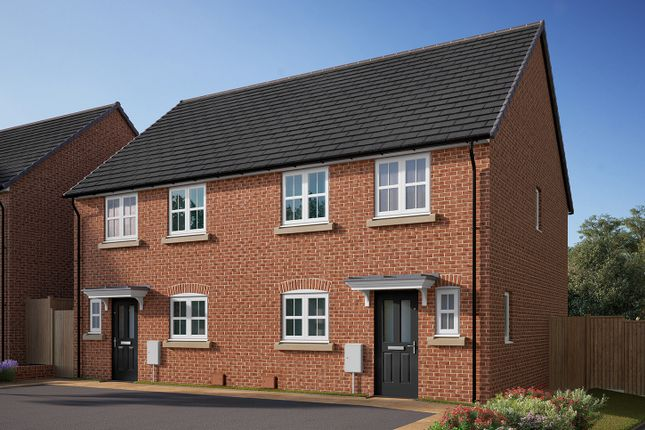 "Thumbnail Semi-detached house for sale in ""The Eveleigh"" at Southfield Lane, Tockwith, York"