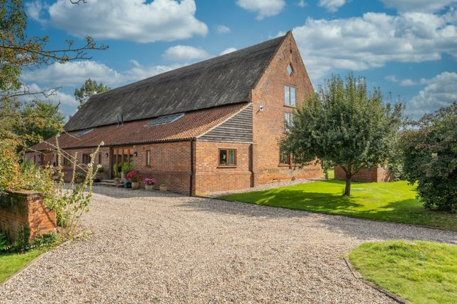 Thumbnail Barn conversion for sale in Hemblington Hall Road, Hemblington, Norwich