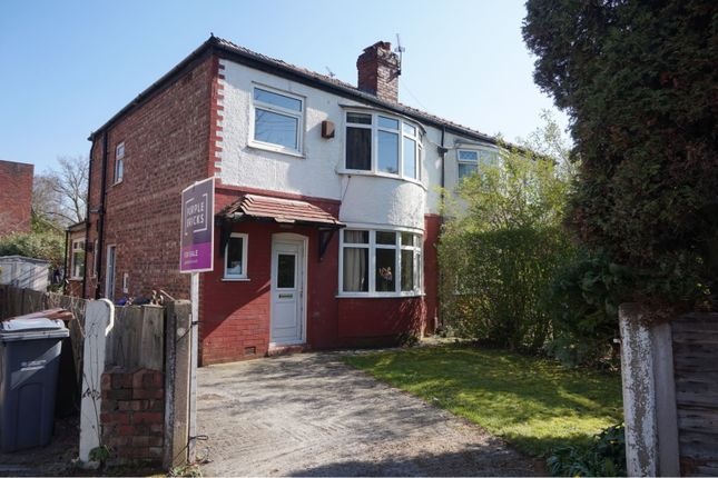 Thumbnail Semi-detached house for sale in Sibson Road, Chorlton