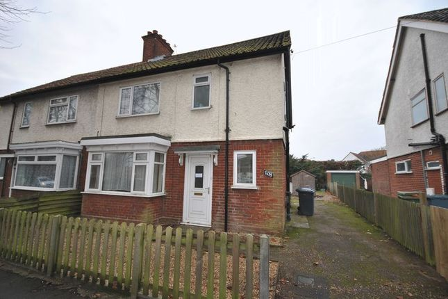 Thumbnail Semi-detached house for sale in Colman Road, Norwich