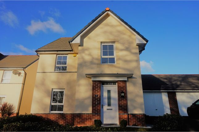 Thumbnail Detached house for sale in Chapel Walk, Penygarn, Pontypool, Torfaen