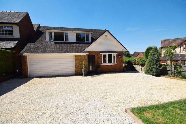 Thumbnail Detached bungalow for sale in Little Lane, Rough Close, Stoke-On-Trent