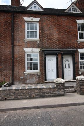 Thumbnail 2 bed terraced house to rent in Cheadle Road, Uttoxeter