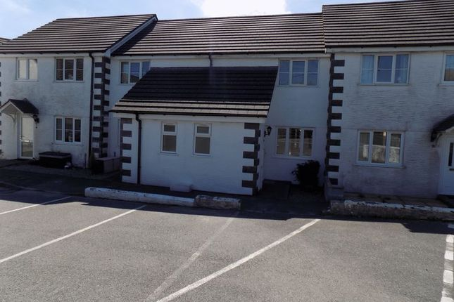Thumbnail Terraced house for sale in Cleavers Way, Stenalees, St. Austell