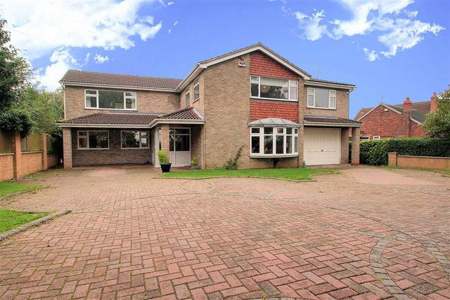 5 bed detached house for sale in Fen Road, Washingborough, Lincoln