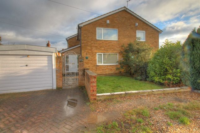 Thumbnail Semi-detached house for sale in Back Grovehall Drive, Beeston, Leeds
