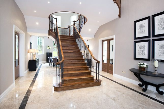 Thumbnail Detached house to rent in Rodona Road, St George's Hill, Weybridge, Surrey