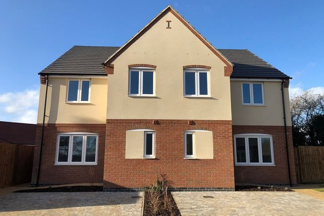 Thumbnail Semi-detached house for sale in Mill Fields, North Road, South Kilworth, Lutterworth