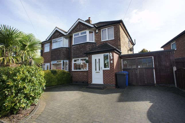 Thumbnail Semi-detached house to rent in Burnside Drive, Spondon, Derby