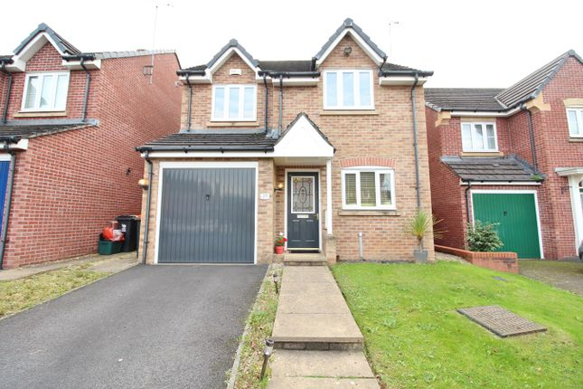 Thumbnail Detached house for sale in Fuscia Way, Rogerstone, Newport