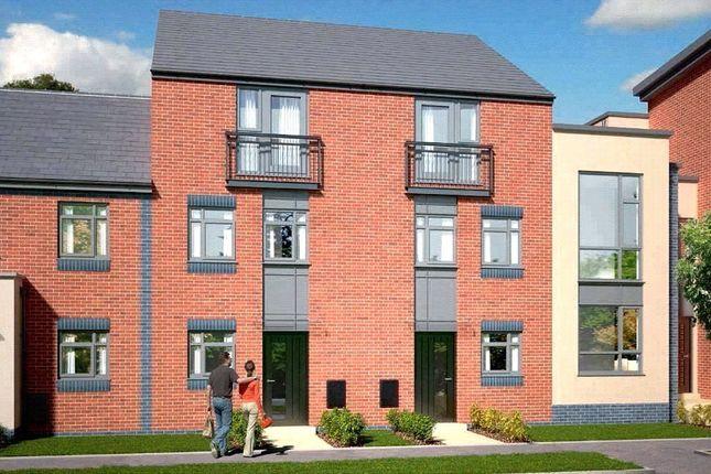 Thumbnail Town house for sale in The Dawlish - Plot 410, Johnsons Wharf, Leek Road, Hanley, Stoke On Trent