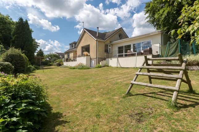 Thumbnail Detached house for sale in Cleevedale Road, Combe Down, Bath