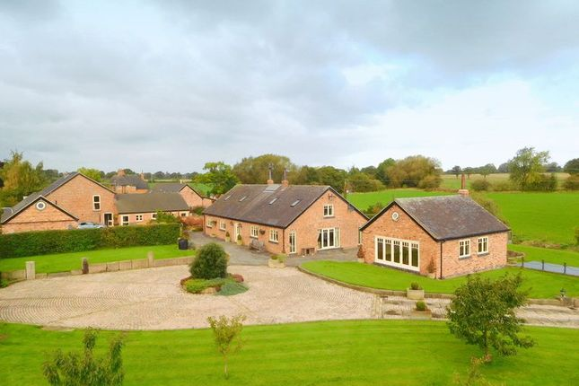 Thumbnail Detached house for sale in Poole Old Hall Lane, Poole, Nantwich