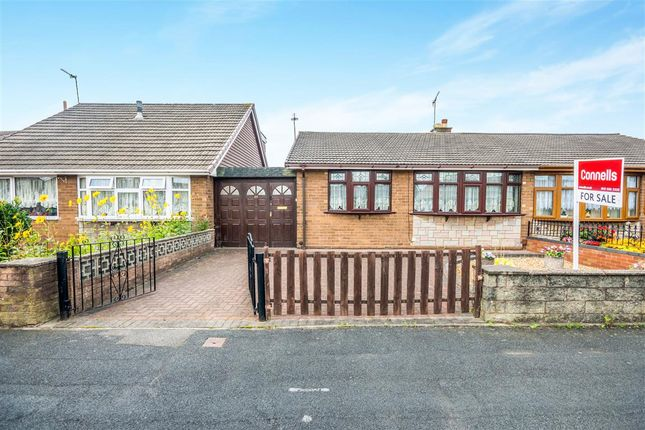 Thumbnail Semi-detached bungalow for sale in Newman Road, Tipton