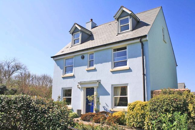 Thumbnail Detached house for sale in Greenhill Road, Staddiscombe, Plymouth