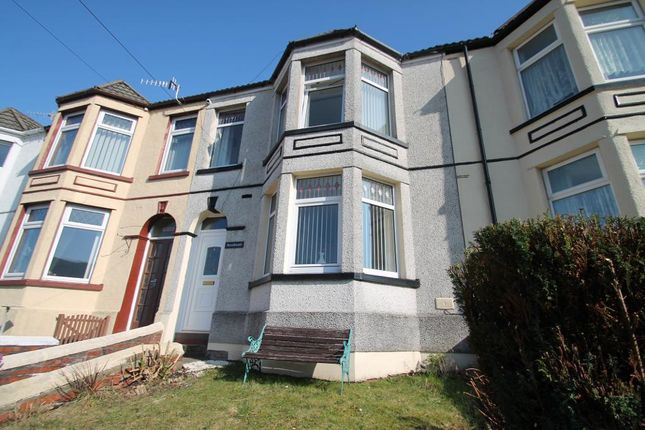 Thumbnail Terraced house for sale in Park Place, Waunlwyd, Ebbw Vale, Blaenau Gwent