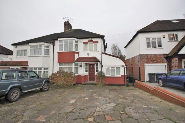 Thumbnail Semi-detached house for sale in Carlton Avenue, London