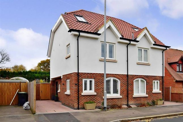 Thumbnail Semi-detached house for sale in Station Road, Chigwell, Essex