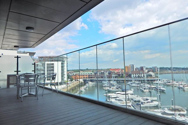 Thumbnail Flat for sale in The Hawkins Tower, Ocean Village, Southampton