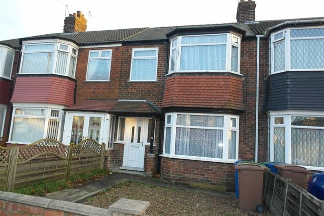 Thumbnail Terraced house to rent in Cottesmore Road, Hessle