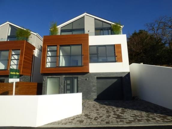 Thumbnail Detached house for sale in Corfe View Road, Poole, Dorset
