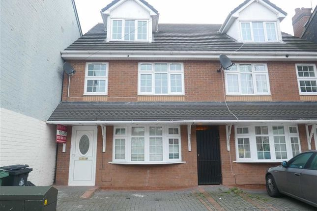 Thumbnail Town house to rent in Miner Street, Walsall