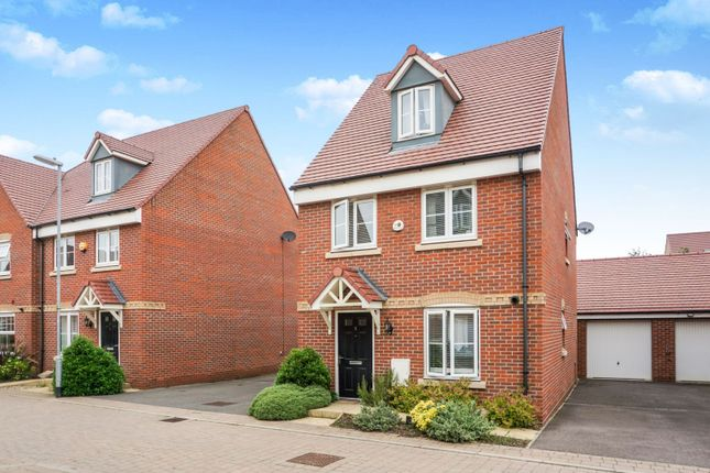 Thumbnail Detached house for sale in Bose Avenue, Biggleswade