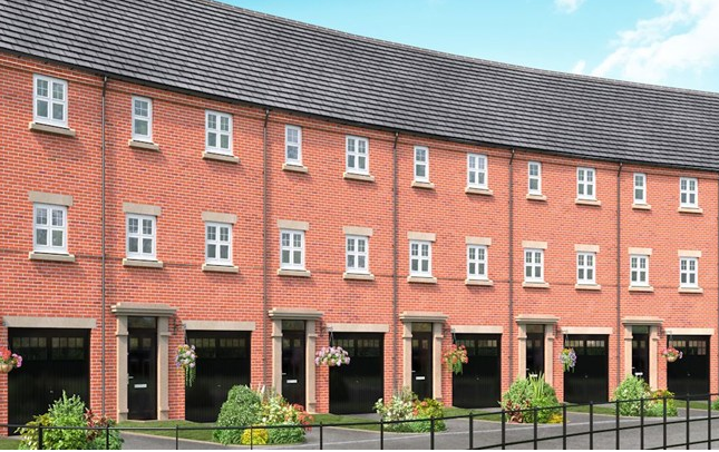 Thumbnail Mews house for sale in The Borrowdale, Trinity Gardens, Ling Road, Loughborough