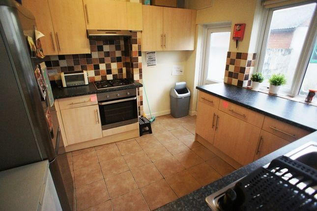 Thumbnail Terraced house to rent in Malefant Street, Cathays, Cardiff.
