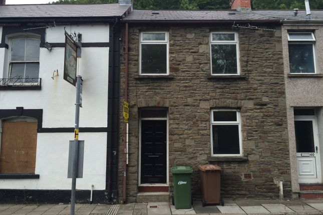 Thumbnail Terraced house to rent in Commercial Road, Abercarn, Newport