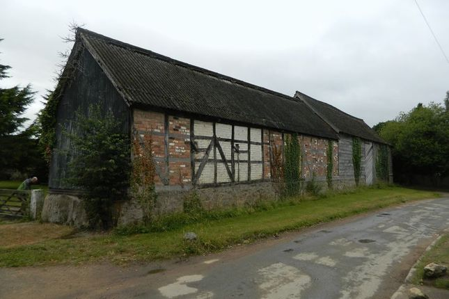 Thumbnail Land for sale in The Threshing Barn, Haughton, Oswestry