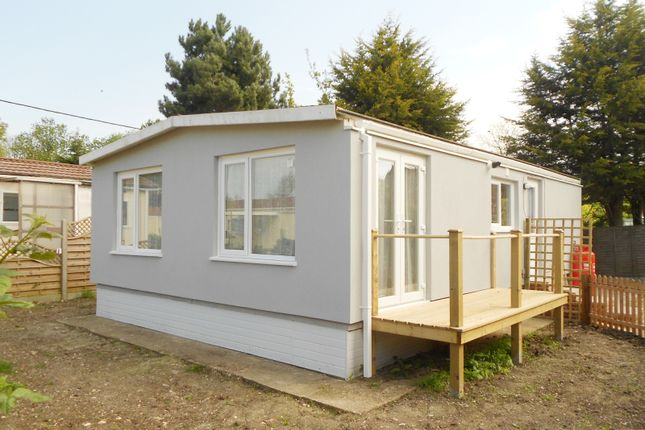Thumbnail Mobile/park home for sale in Downsland Park, Woodrow Lane, Great Moulton
