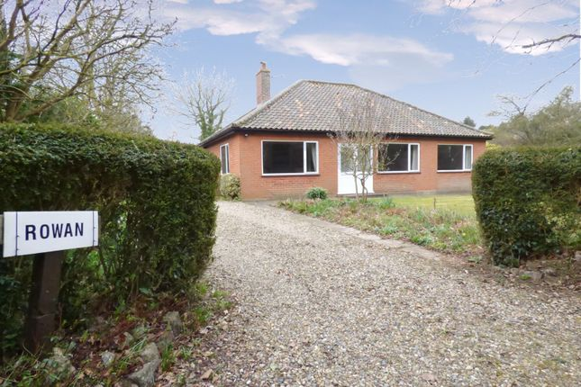 Thumbnail Detached bungalow for sale in South Burlingham Road, Lingwood, Norwich