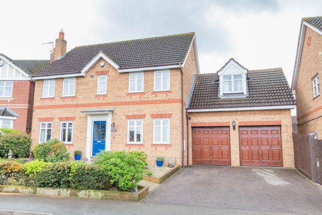 Thumbnail Detached house for sale in Cotswold Drive, Wellingborough