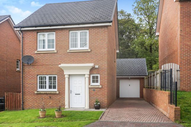 Thumbnail 3 bed detached house for sale in Blacader Drive, Glasgow