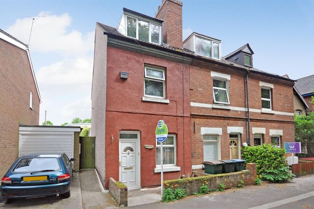 Thumbnail End terrace house for sale in Broomfield Place, Earlsdon, Coventry