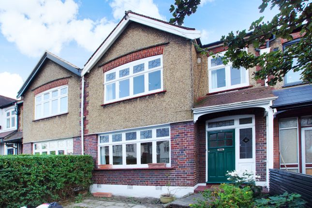 Thumbnail Terraced house to rent in Churston Gardens, Bounds Green