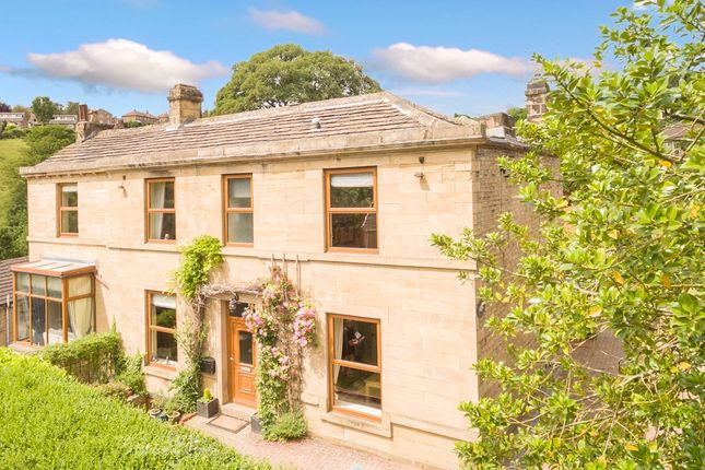 Thumbnail Detached house for sale in Burnlee Road, Holmfirth