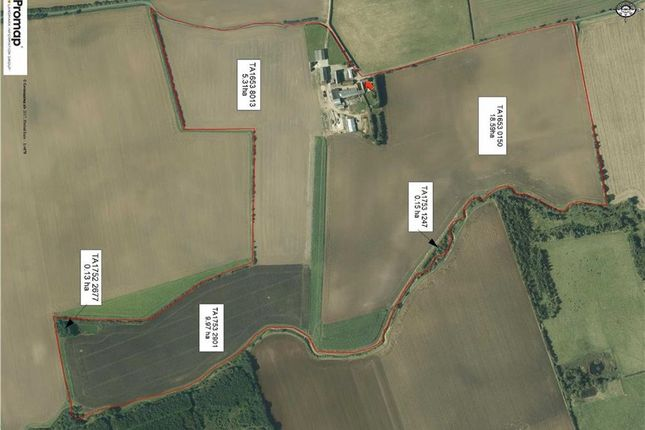 Thumbnail Farm for sale in Bewholme, Driffield