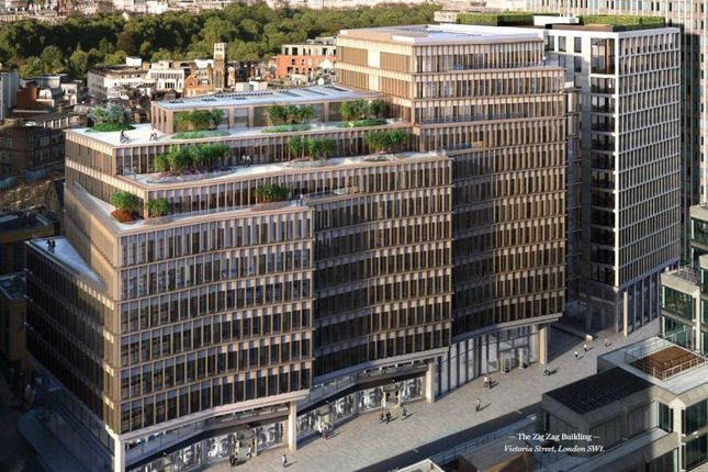 Thumbnail Office to let in The Zig Zag Building, 70 Victoria Street, London, Greater London